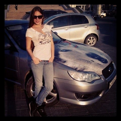 Марина — Subaru Legacy